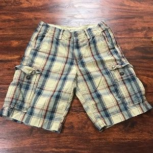 AMERICAN EAGLE Classic Length Multi Color Plaid